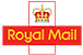 Royal Mail standard, tracked and signed and next day delivery